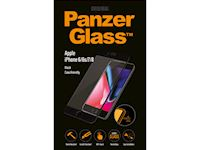 PanzerGlass Apple iPhone 6/6s/7/8 - Black Case Friendly - SUPER+ Glass