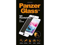 PanzerGlass Apple iPhone 6/6s/7/8 Plus - White Case Friendly - SUPER+ Glass