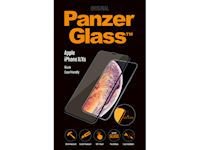 PanzerGlass Apple iPhone X/Xs - Black Frame Case Friendly - SUPER+ Glass