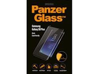 PanzerGlass Samsung Galaxy S8 Plus - Black Case Friendly - SUPER+ Glass