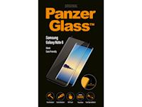 PanzerGlass Samsung Galaxy Note 8 - Black Case Friendly - SUPER+ Glass