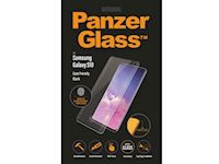 PanzerGlass Samsung Galaxy S10 FP - Black Case Friendly - SUPER+ Glass