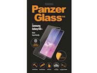 PanzerGlass Samsung Galaxy S10+ FP - Black Case Friendly - SUPER+ Glass