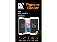 PanzerGlass Apple iPhone 6/6s/7/8 Plus - White CR7 BrandGlass