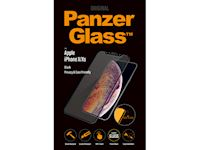 PanzerGlass Apple iPhone X/Xs PRIVACY - Black Frame Case Friendly - SUPER+ Glass