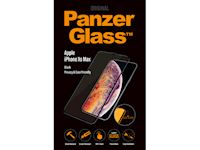 PanzerGlass Apple iPhone Xs Max - Black - PRIVACY Case Friendly - SUPER+ Glass
