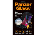 PanzerGlass Apple iPhone 6/6s/7/8 Case Friendly Privacy CamSlider - Black - SUPER+ Glass
