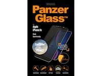 PanzerGlass Apple iPhone XR Case Friendly CamSlider Privacy - Black - SUPER+ Glass