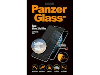 PanzerGlass Apple iPhone X/Xs/11 Pro PRIVACY CamSlider - Black Case Friendly - SUPER+ Glass