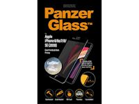 PanzerGlass iPhone 6/6S/7/8/SE (2020) Case Friendly PRIVACY CamSlider - Black - SUPER+ Glass