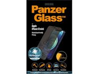 PanzerGlass Apple iPhone 12 mini - Black Case Friendly Privacy Anti-Bacterial - MicroFracture Technology