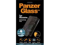 PanzerGlass Apple iPhone 12/12 Pro - Black Case Friendly Privacy Anti-Bacterial - MicroFracture Technology