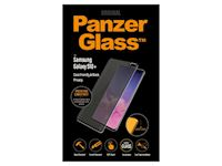 PanzerGlass Samsung Galaxy S10+ PRIVACY - Black Case Friendly - SUPER+ Glass